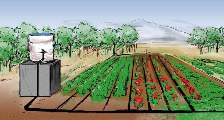 Irrigation h2o for Microirrigazione orto